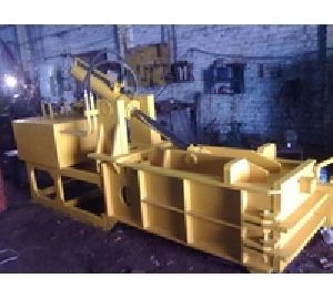 Double Action Scrap Baling Press Top Ejection