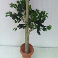 artificial plants & trees,artificial ficus triple topiary plant supplier