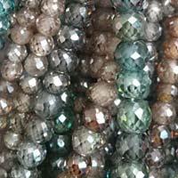 Moissanite Round Beads 02