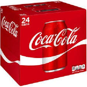 24 Cans Coca Cola Pack