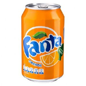 12 Cans Fanta Orange Pack
