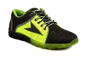 TOMI LONDON SPORTS-SHOES -  BLACK+GREEN