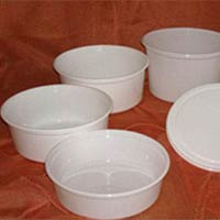 Round Disposable Plastic Containers