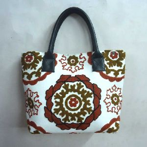 Suzani Tote Hand Bags