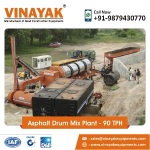 90 TPH Asphalt Drum Mix Plant