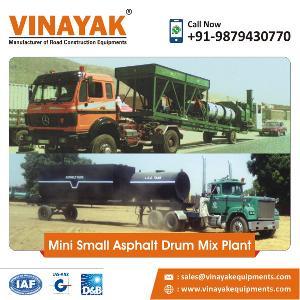 Mini Small Asphalt Drum Mix Plant