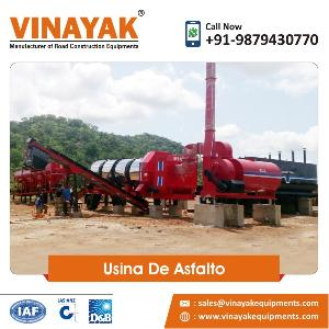 Usina De Asphalt Drum Mix Plant