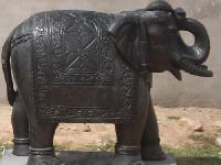 Marble Elephant Statue 17