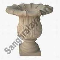 Stone Flower Pot 02