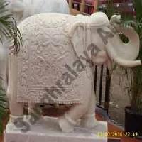 Marble Elephant Statue 20