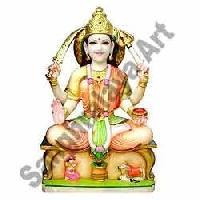 Marble Maa Lakshmi Statue 07
