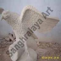 Marble Bird Statues