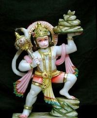 Marble Hanuman Ji Statue 02
