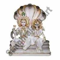 Marble Lord Vishnu Statue 04