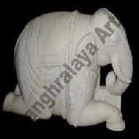 Marble Elephant Statue 11