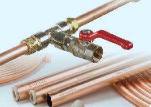 Copper Gas Distribution Pipes