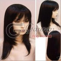 Remy Straight Hair Wig 02