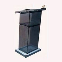 Acrylic Lecture Stand-05