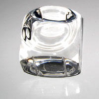 Pure Glass Paper Weight