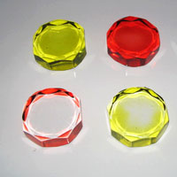 Round Glass Paper Weight