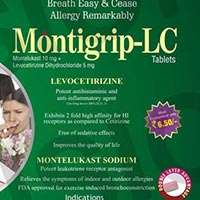 Cetcure-LC & Montigrip-LC Tablets