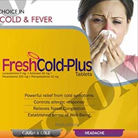 Freshcold & Freshcold Plus Tablets
