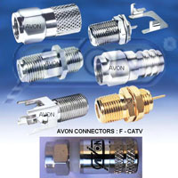 RF Microwave Coaxial F Connector