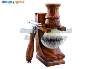 Wooden Shaving Set 01