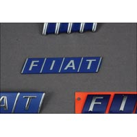 Fiat Name Plate
