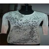 Ladies Half Sleeve Top