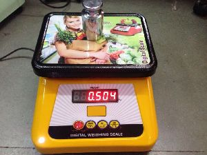 Metal Dust Proof Table Top Scale