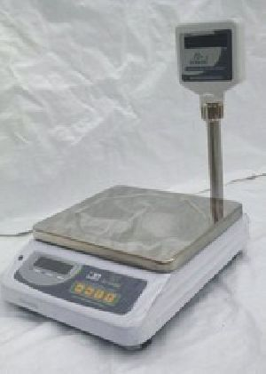 Metal Body Pole Display Table Top Scales