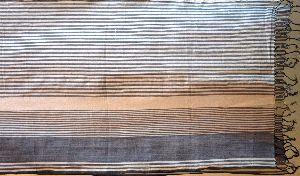 Hand Woven Cotton Shawl 06