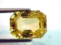Yellow Sapphire Stone 01