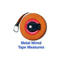 Freemans Metal Wired Measuring Tape