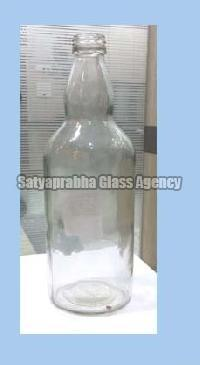 750 ml Glass Round Peg Bottles