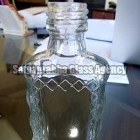 Glass Hair Oil Bottles