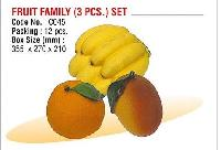 Fruit Family (3 PCS) Set