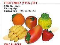 Fruit Family (6 PCS) Set