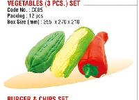 Vegetables (3 PCS) Set