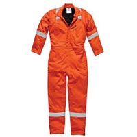 Safety Orange Coverall