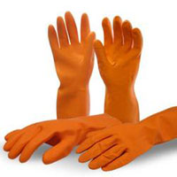 Safety Rubber Gloves