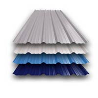 Corrugated Color Metal Sheet