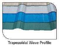 uPVC Trapezoidal Wave Profile Roofing Sheets