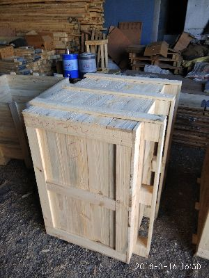 Pine Wood Pallet Box