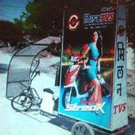 Deluxe Advertising Tricycle 02