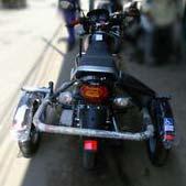 Side Wheel Attachment for Bike 05