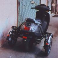 TVS Jupiter Side Wheel Attachment