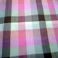 Lurex Check Fabric