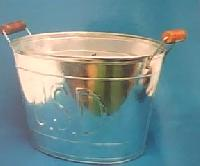 Tin Galvanized Ice Buckets